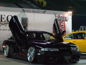 最新入庫情報|2009年 福岡オートサロン出展車両製作(シルビア)