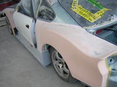 カスタムカー車両製作作業風景|ピッコロ号