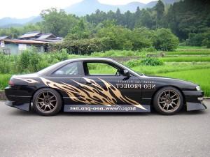 福岡のチューニングマシン|S14シルビア ボディグラフィック