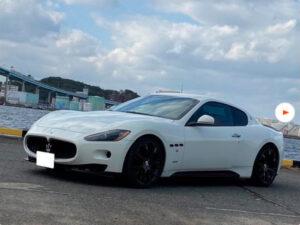 最新入庫情報|マセラティ グラントゥーリズモS 4.7 MCシフト 可変マフラー 車高調 (ホワイト)